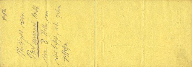 Banknotes Bertaucourt-Epourdon (02). Commune. Billet. 5 francs 30.9.1915, série E