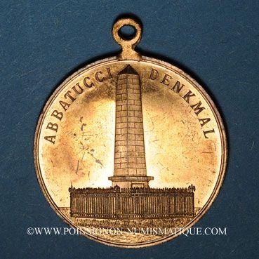 Coins Huningue. Tournoi de gymnastique. 1907. Bronze. 28,72 mm, avec son œillet