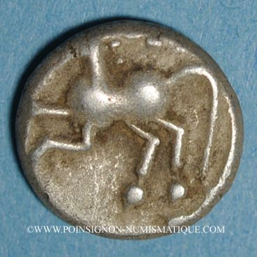 Coins Allobroges. Région du Dauphiné. Denier, 1er s. av. J-C