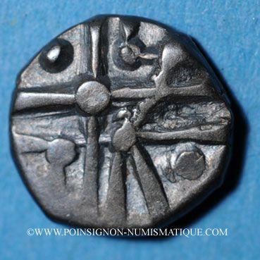 Coins Cadurques. Région de Cahors. Hémidrachme d'argent du type Cuzance
