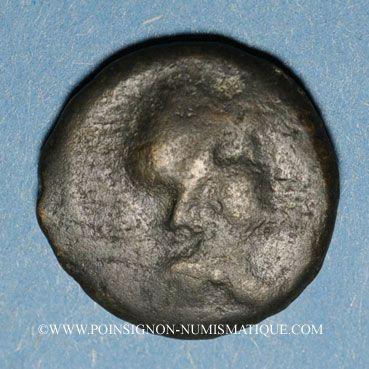 Coins Médiomatrices. Région de Metz. Bronze classe I, vers 60-25 av. J-C