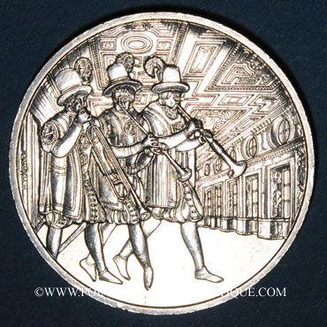 Coins Autriche. 10 euro 2002. Château Ambras