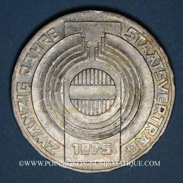 Coins Autriche. République. 100 schilling 1975. Constitution