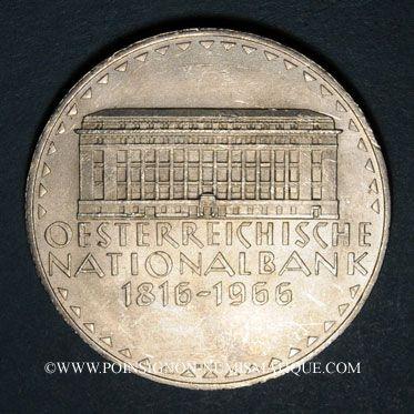Coins Autriche. République. 50 schilling 1966. Banque Nationale Autrichienne