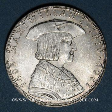 Coins Autriche. République. 50 schilling 1969. Maximilien I