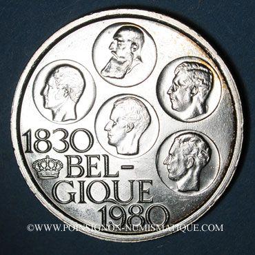 Coins Belgique. Baudouin I (1951-1993). 500 francs 1980. Légende française