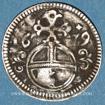 Coins Silésie. Léopold I (1657-1705). 3 pfennig 1679. Opole (Oppeln)