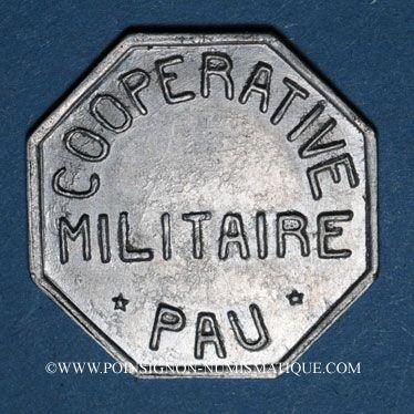 Coins Pau (64). Coopérative Militaire. 10 centimes