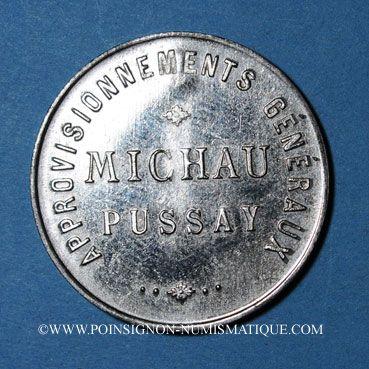 Coins Pussay (91). Approvisionnement Généraux, Michau. 1 (litre)