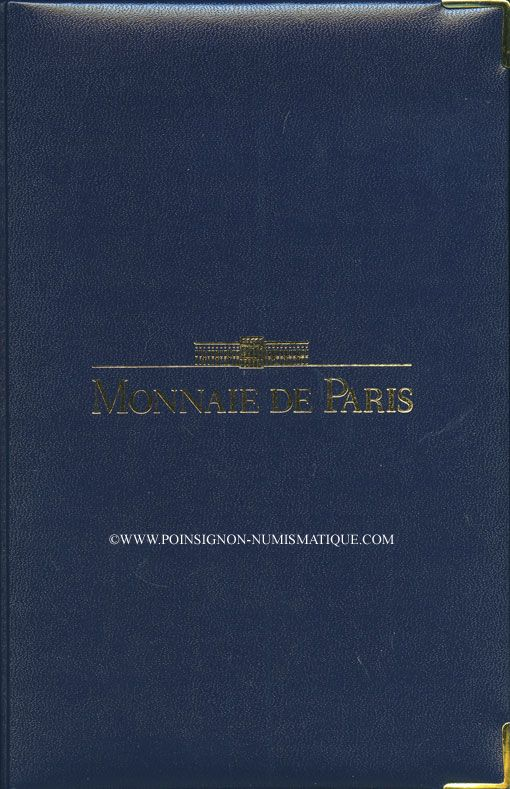 Coins 5e république (1959-). Série FDC 1991 B.E.
