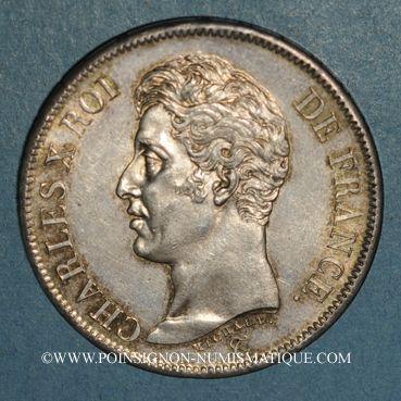Coins Charles X (1824-1830). 5 francs 1er type 1826 A