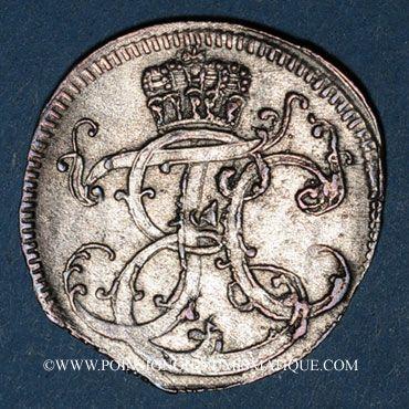 Coins Saxe. Ernest Frédéric III Charles (1745-80). 1/24 taler 1760