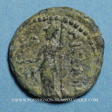 Coins Cilicie. Aigaié. Bronze, 47-27 av. J-C