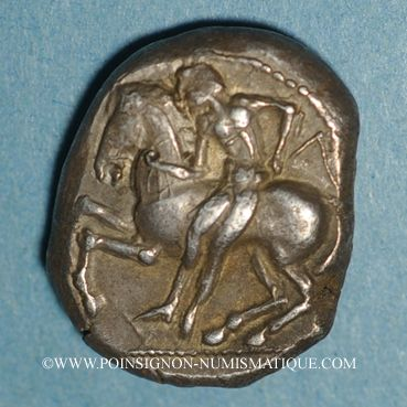 Coins Cilicie. Célendéris. Statère, vers 425-400 av. J-C