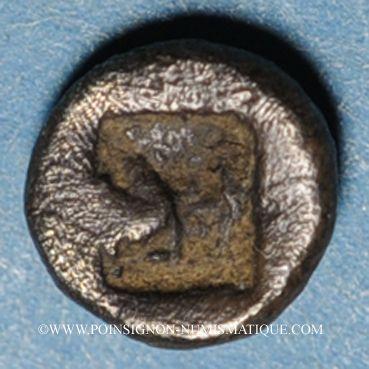 Coins Ionie. Téos (vers 500-480 av. J-C). Tétartémorion