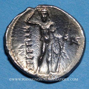 Coins Italie. Bruttium. Les Bruttiens. Drachme, 282-203 av. J-C