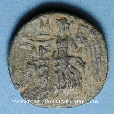 Coins Pamphylie. Sidé (vers 190-36 av. J-C). Bronze