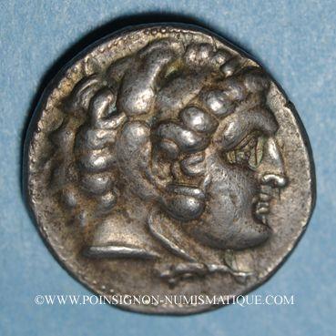 Coins Roy. de Macédoine. Philippe III l'Aridée (323-317 av. J-C). Tétradrachme. Salamis,  323/315 av. J-C