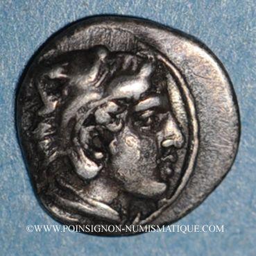 Coins Royaume de Macédoine. Archelaos (413-399 av. J-C). Hemiobole. Aigai