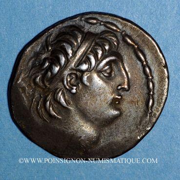 Coins Royaume de Syrie. Antiochus VII Evergète Sidètes (138-129 av. J-C). Tétradrachme. Damas