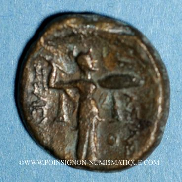 Coins Royaume de Syrie. Séleucus I Nicator (312-280 av. J-C). Bronze. Antioche, vers 360-281