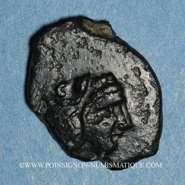 Coins Sicile. Himère (Thermea Himerenses). Bronze, vers 407-340 av. J-C