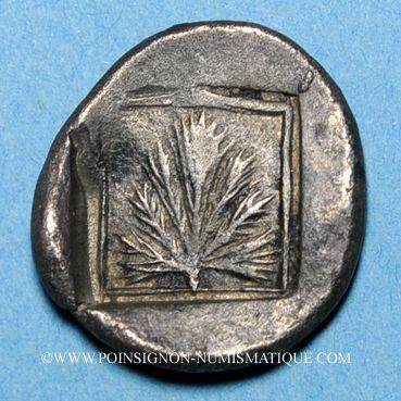 Coins Sicile. Sélinonte. Didrachme, vers 515-470 av. J-C
