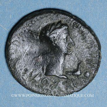Coins Thrace. Rhoemetalces I, avec Auguste (11 av. - 12 ap. J-C). Bronze