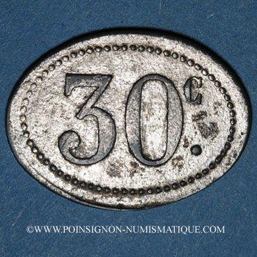 Coins Guyane. Cayenne. F. Tanon & Cie. 30 cent n. d.