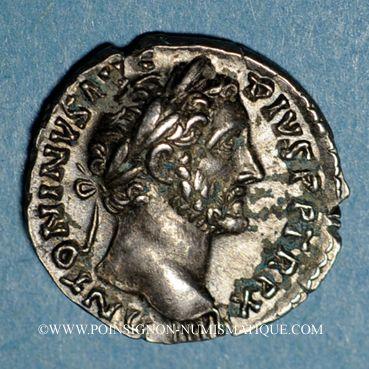 Coins Antonin le Pieux (138-161). Denier. Rome, 148-149. R/: l'Abondance