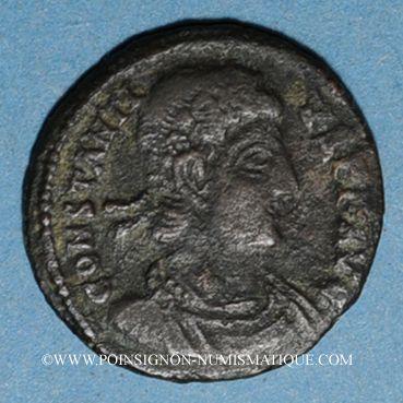 Coins Constance II (337-361). Centenionalis. Siscia, 5e officine, 345-346. R/: deux Victoires
