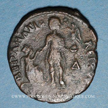 Coins Gratien (367-383). Maiorina. Thessalonique, 1ère officine, 378-83. R/: l'empereur