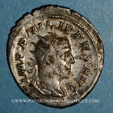 Coins Philippe I (244-249). Antoninien. Rome, 245-247. R/: Rome