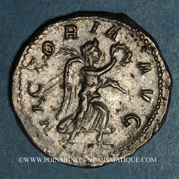 Coins Philippe I (244-249). Antoninien. Rome, 245. R/: Victoire
