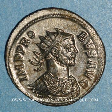 Coins Probus (276-282). Antoninien. Rome, 1ère officine, 278-280. R/: trophée