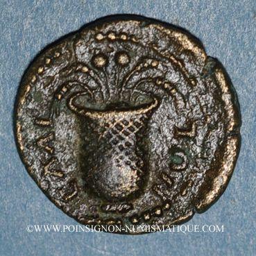 Coins Commode, césar (166-177). Bronze. Elée