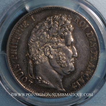 Coins Louis Philippe (1830-1848). 5 francs 1848A