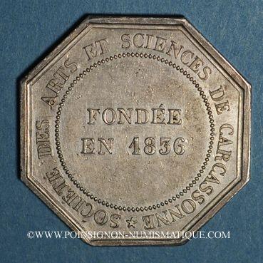Coins Académies et Sociétés Savantes. Société des Artes et des Sciences de Carcassone