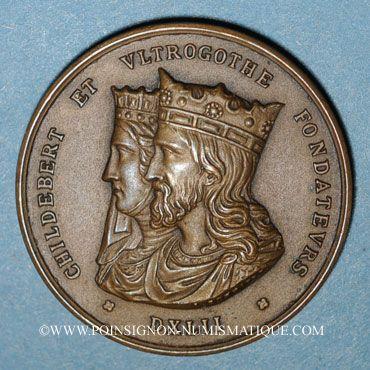 Coins Lyon. Conseil général d'administration des Hôpitaux civils. Poinçon : corne d'abondance