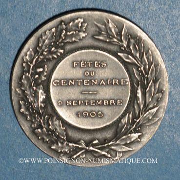 Coins Mâcon. Centenaire de l'Académie de Mâcon. 1905. Jeton maillechort