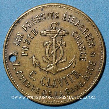 Coins Nice (06). Aux produits étrangers, C. Clavier, 7 avenue de la Gare.
