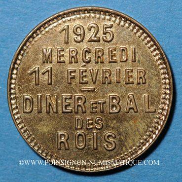 Coins Nice (06). Ville de Nice. Hôtel Majestic, 11 février 1925, Dîner et Bal des Rois
