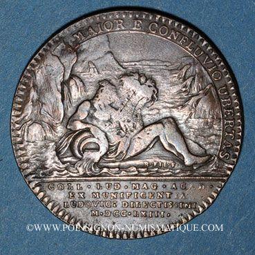 Coins Paris. Collège Louis le Grand. Jeton cuivre
