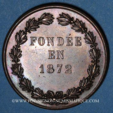 Coins Versailles, Union versaillaise du commerce & de l'industrie, jeton cuivre poinçon: corne d'abondance