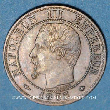 Stolen objects 2e empire (1852-70), 1 cme tête nue 1853BB Strasbourg