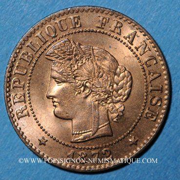 Stolen objects 3e république (1870-1940), 1 cme Cérès 1872A, ancre