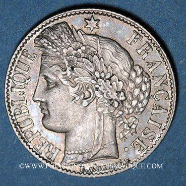 Stolen objects 3e république (1870-1940), 1 franc Cérès 1887A