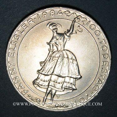 Stolen objects Autriche. République. 500 schilling 1984. Fanny Elssler