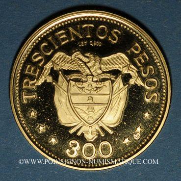Stolen objects Colombie. République. 300 pesos 1968. 39e congrès eucharistique international. 900 /1000. 12,90 g