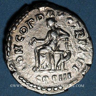 Stolen objects Marc Aurèle (161-180), denier, Rome, 161-162. R/: la Concorde assise à g.